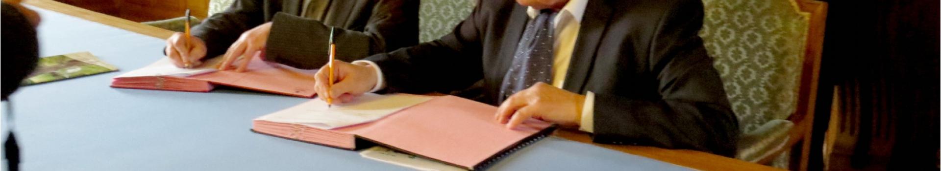 Signature d'une convention de partenariat